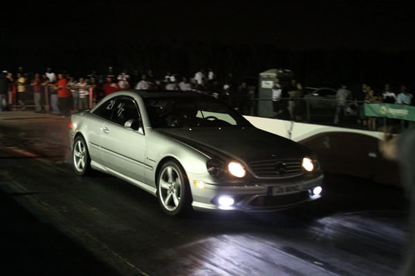 Silver 2004 Mercedes-Benz CL55 AMG