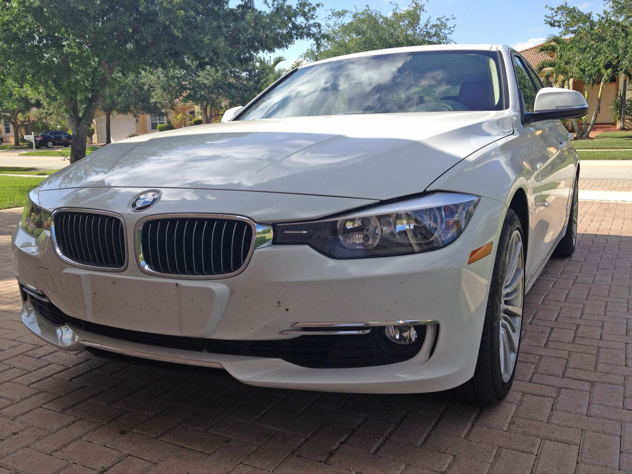 White 2012 BMW 328i TwinPower Turbo