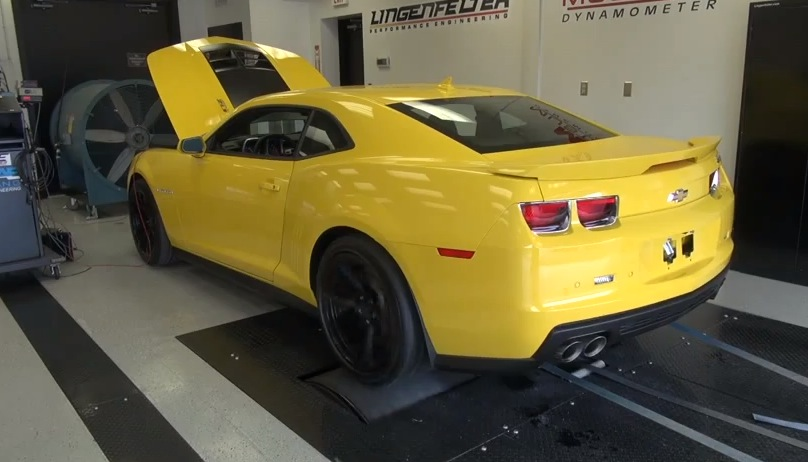 Yellow 2012 Chevrolet Camaro ZL1