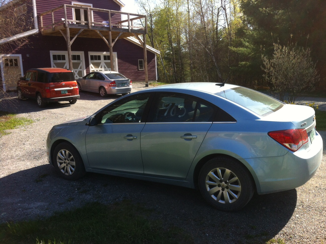 Ice Blue Metallic 2011 Chevrolet Cruze LT