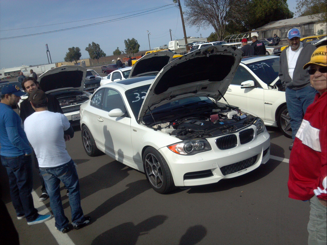 White 2008 BMW 135i JB4 (N54 Stock Turbo No Nitrous World Record)