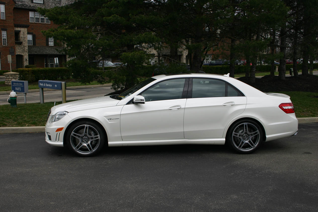 Diamond White 2012 Mercedes-Benz E63 AMG MHP ECU Tune Only
