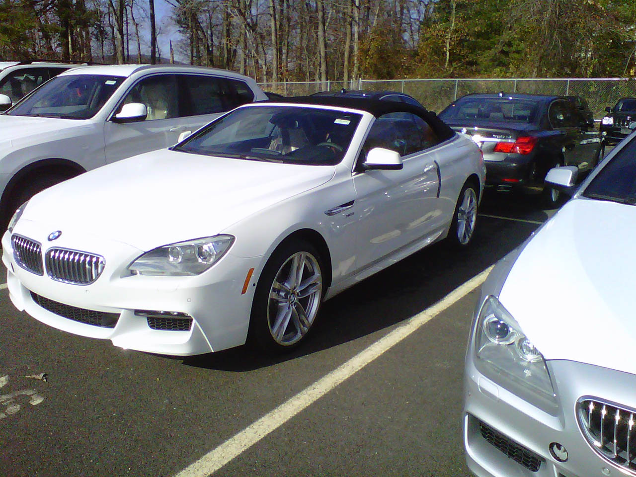 white 2012 BMW 650i convertible