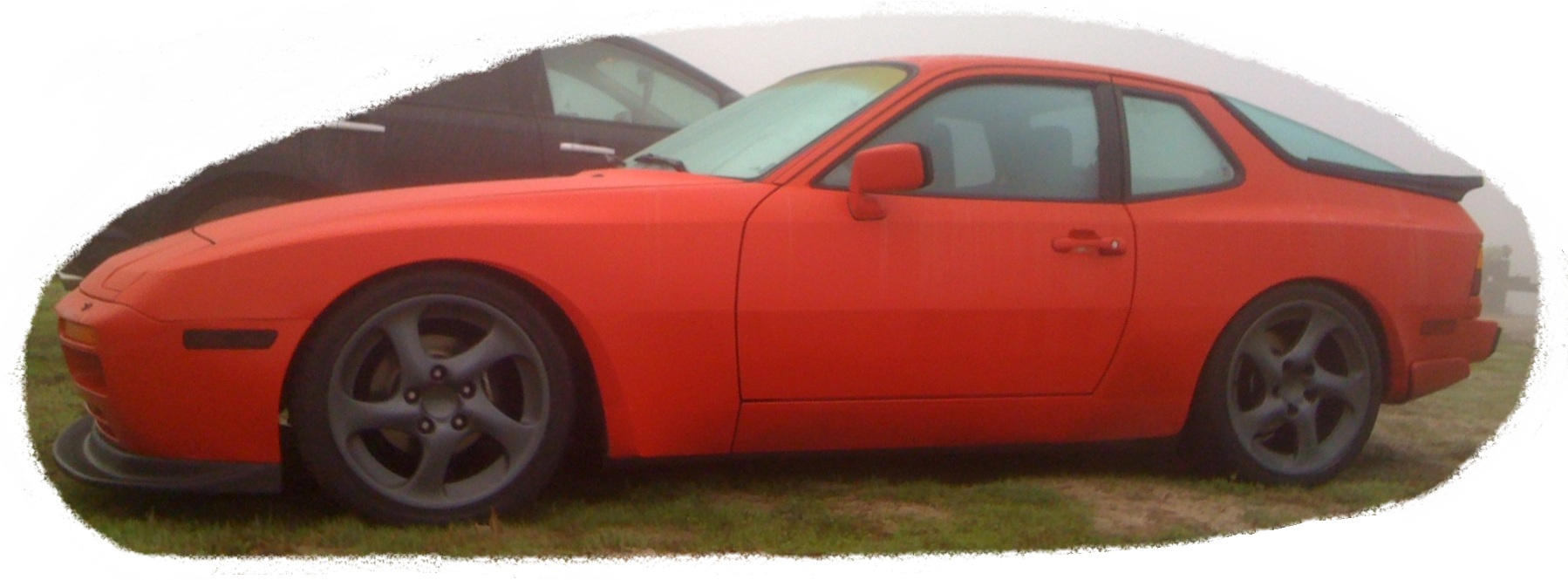 Red 1986 Porsche 944 Turbo