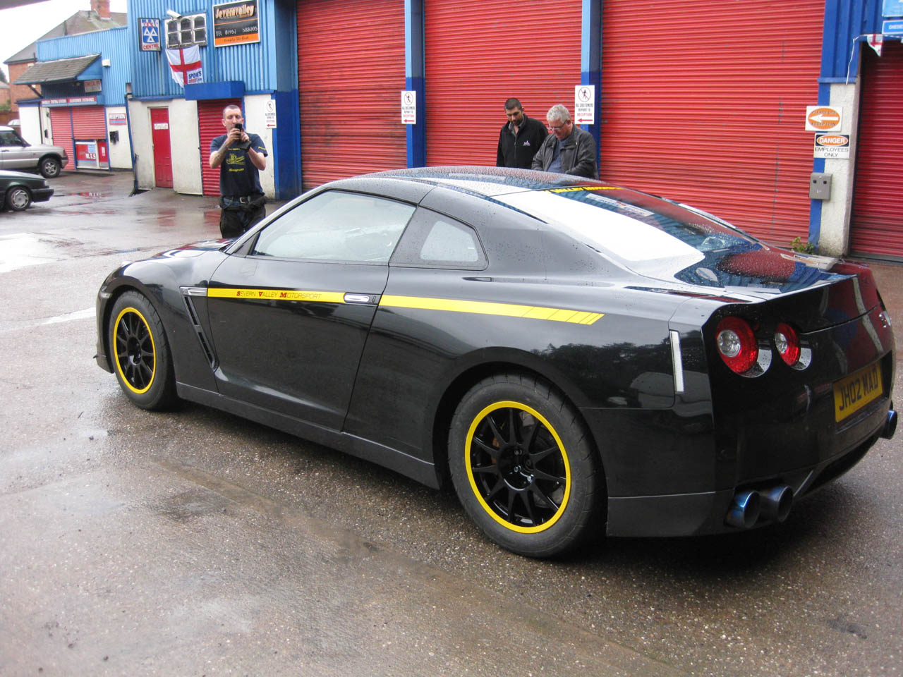 2009 Black Nissan GT-R  picture, mods, upgrades