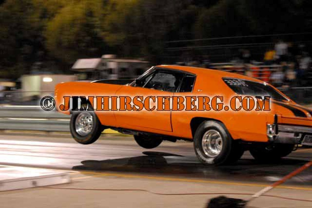 Hugger Orange 1972 Chevrolet Monte Carlo