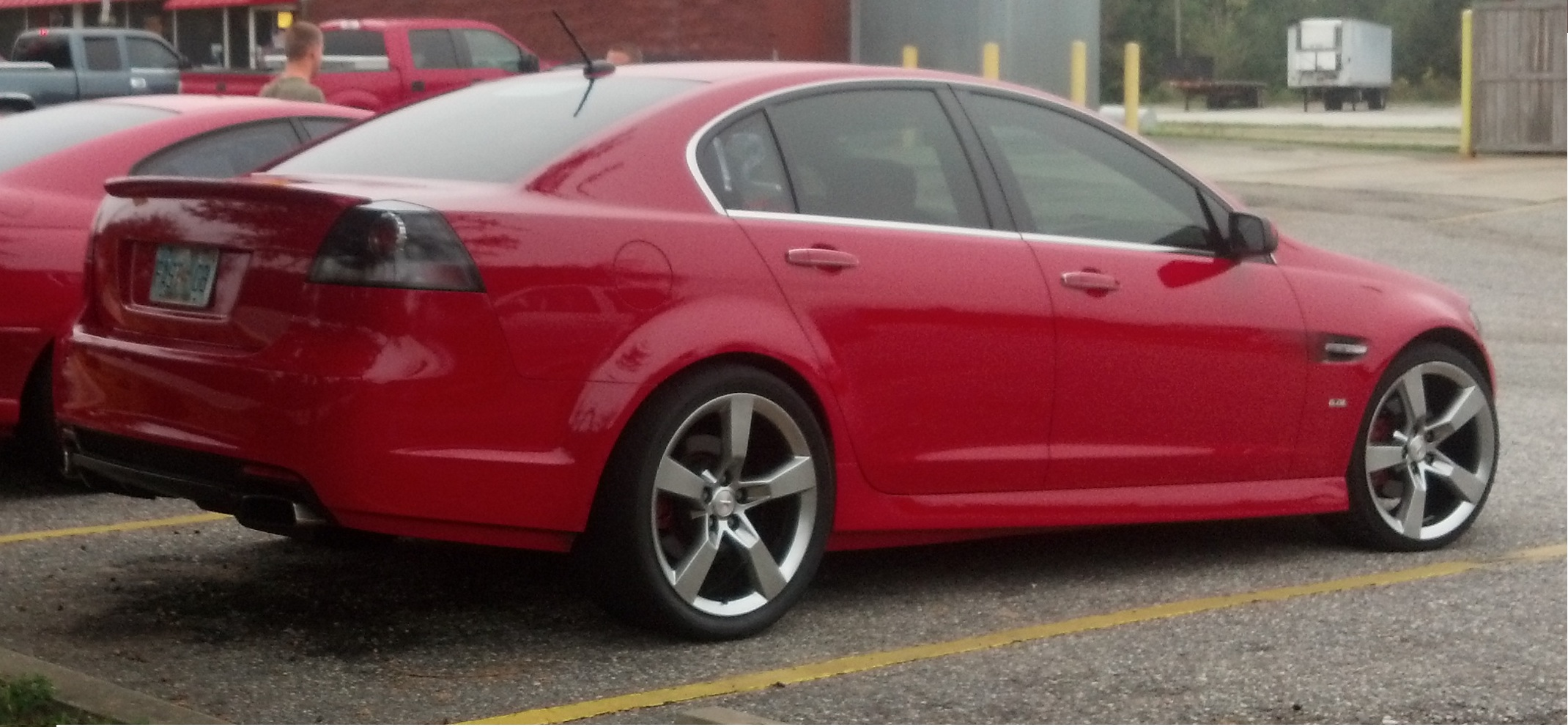 2009 Red Pontiac G8 GT picture, mods, upgrades