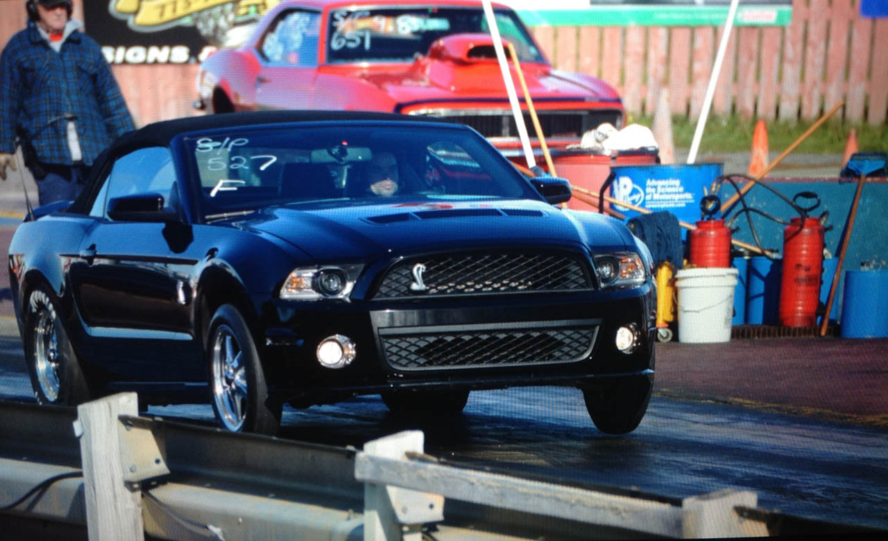 black 2011 Ford Mustang Shelby-GT500