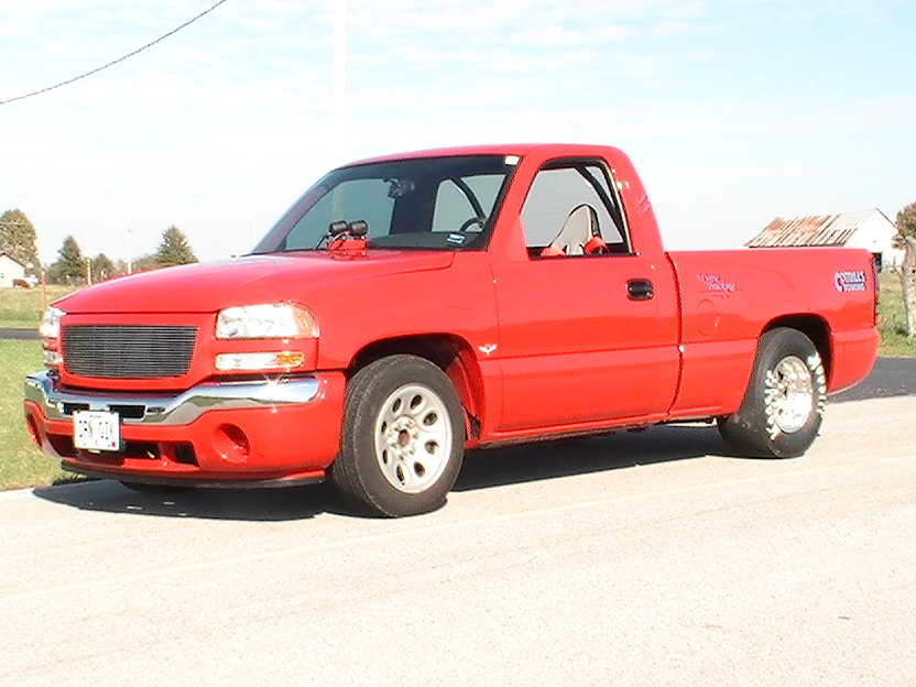 Red 2006 GMC Sierra