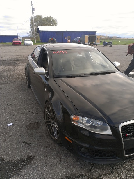 Phantom Black 2008 Audi RS-4