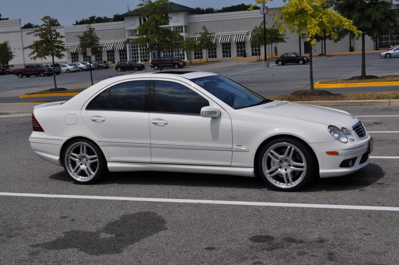 Alabaster White 2006 Mercedes-Benz C55 AMG