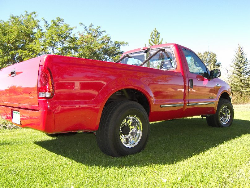 1999 Red Ford F250 Reg Cab picture, mods, upgrades