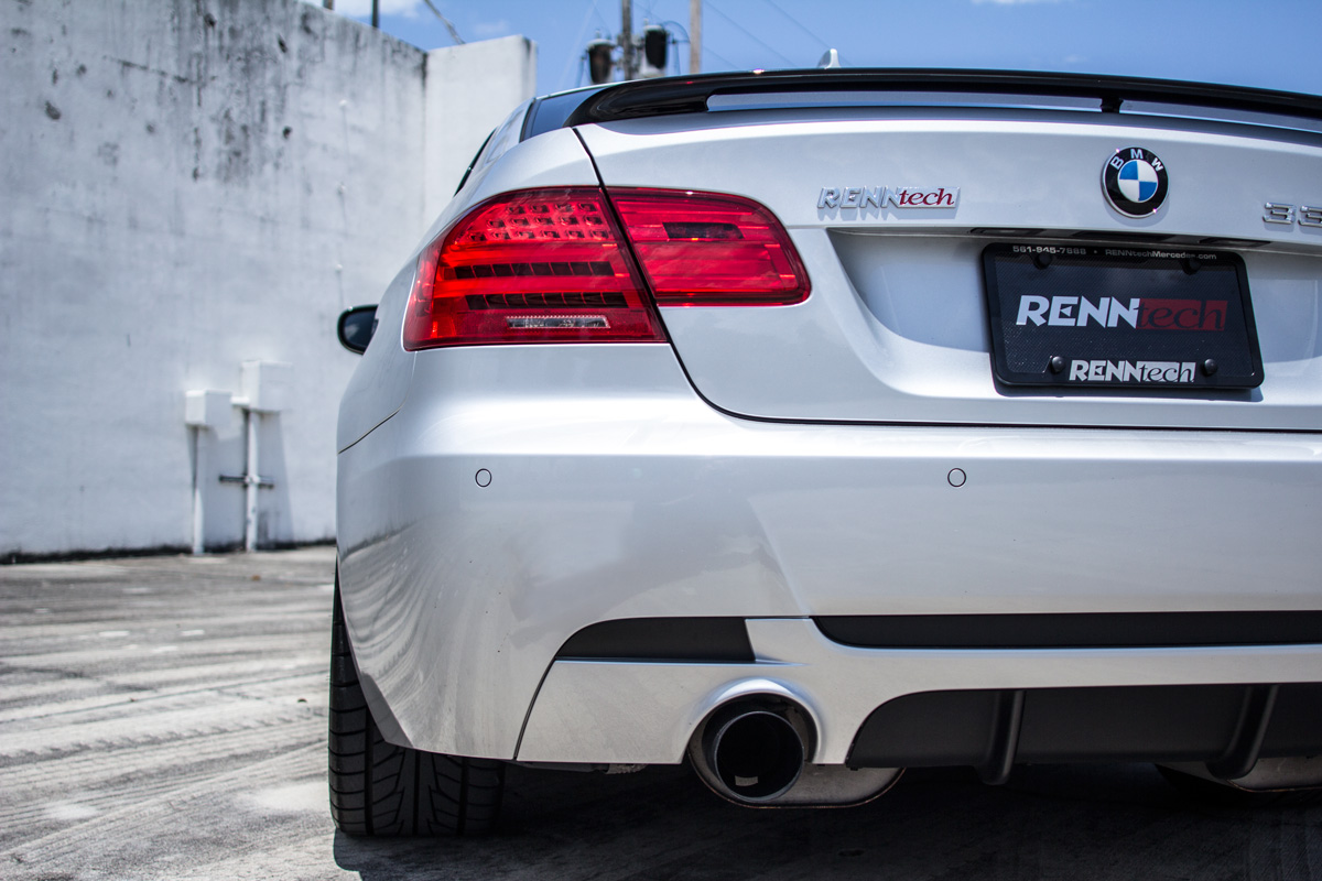 Silver Metalic 2011 BMW 335i RENNtech DCT 335IS