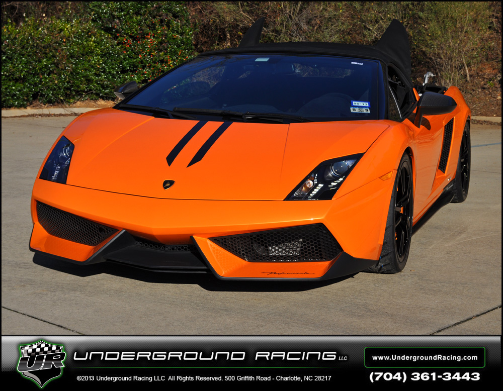 Arancio Borealis 2011 Lamborghini Gallardo LP570-4 Performante UGR Twin Turbo