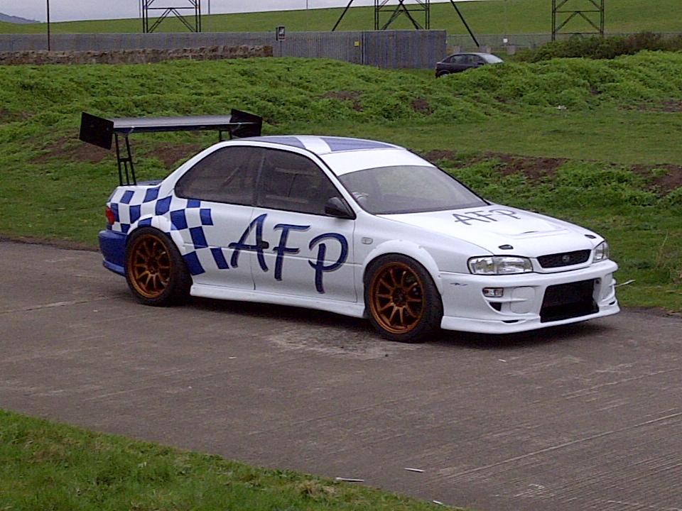 1995 Subaru Impreza Sti type RA 1/4 mile Drag Racing trap speed 0-60