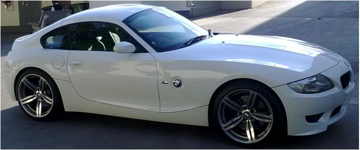 White 2010 BMW Z4 M-Coupe