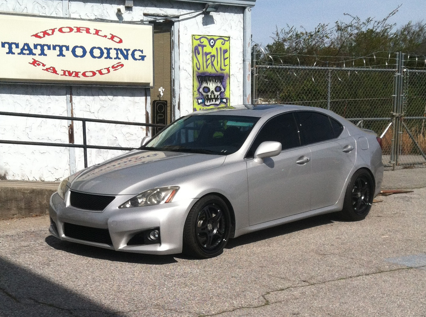 Tungsten pearl 2006 Lexus IS350 Sport