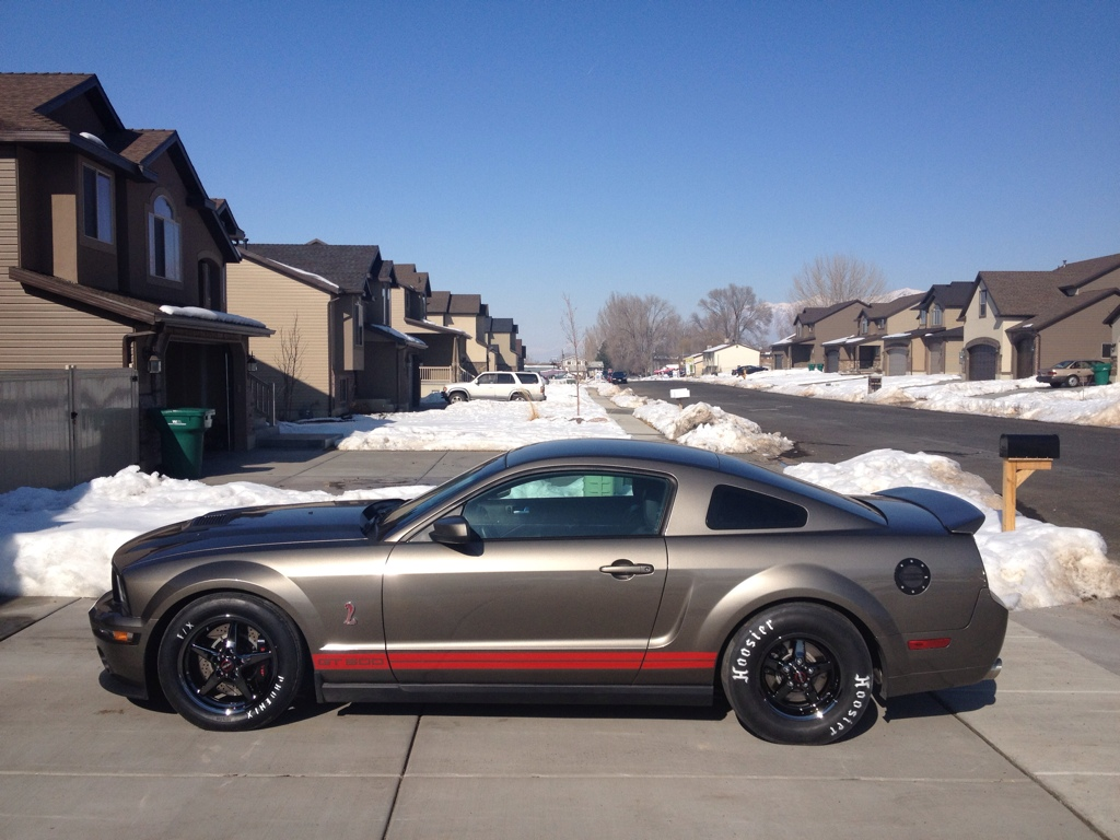 Mineral Grey 2005 Ford Mustang GT