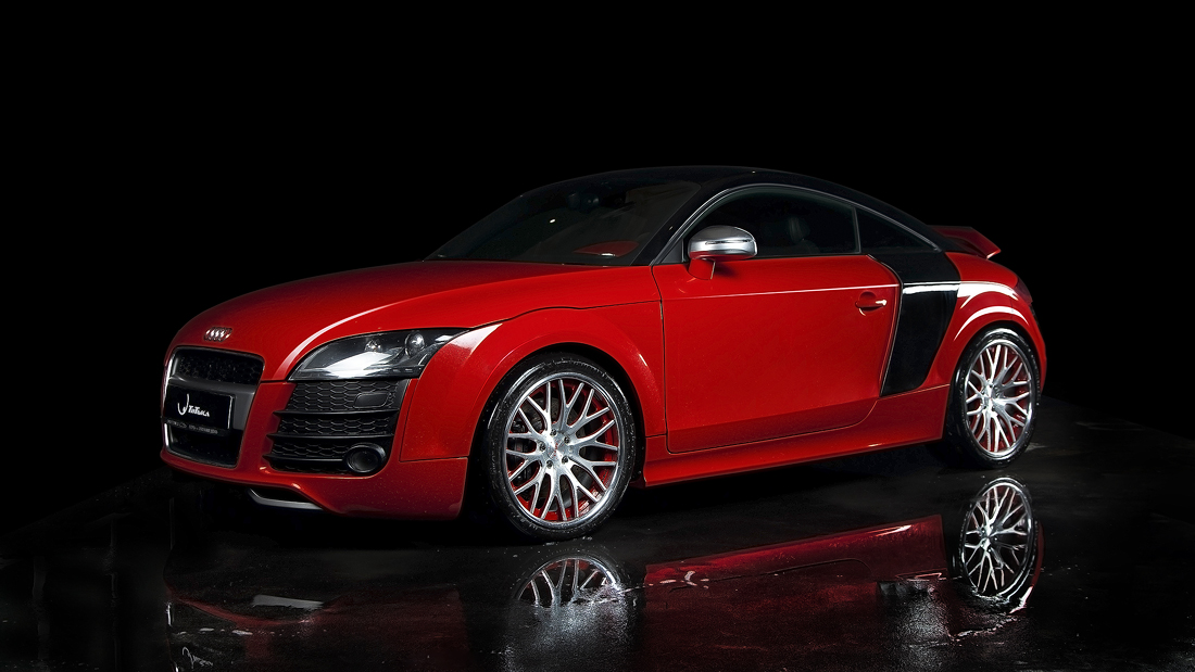 2009 red/black Audi TT S APR Stage3 picture, mods, upgrades