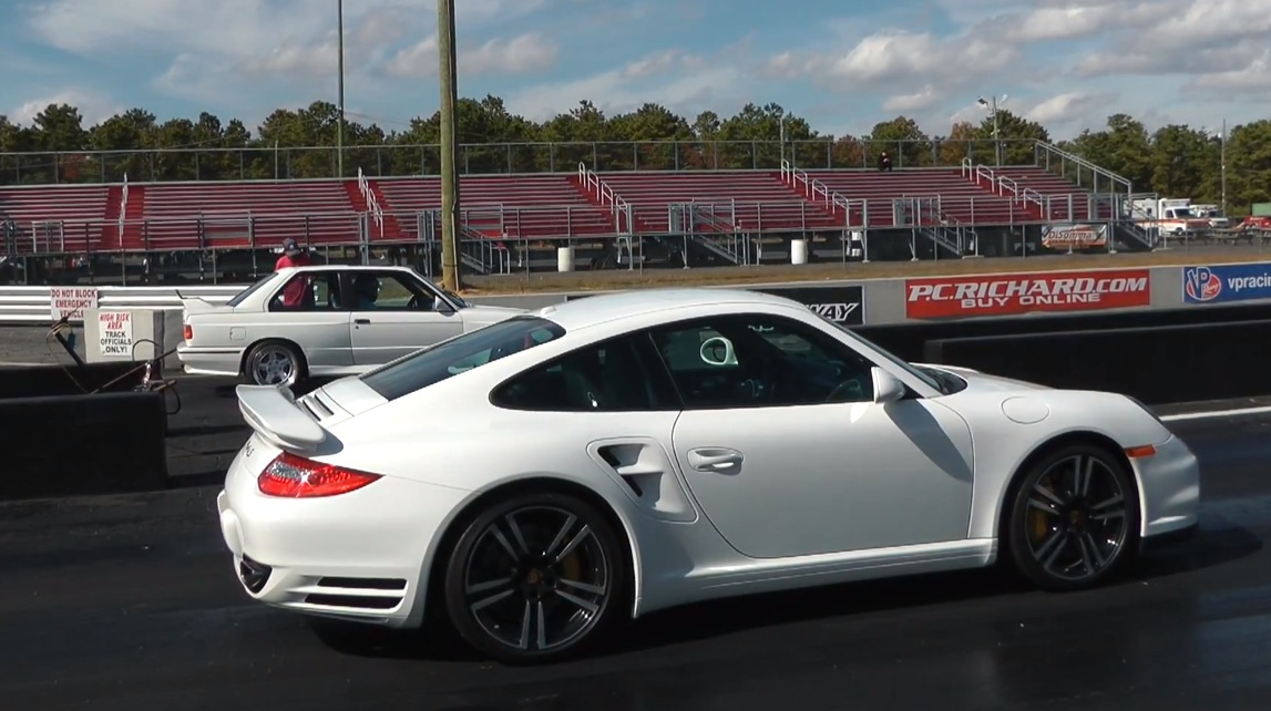 White 2012 Porsche 911 Turbo S