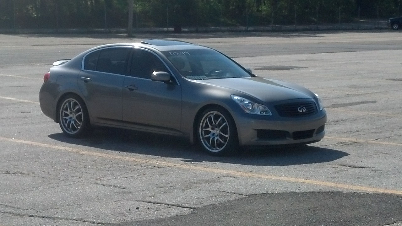 Platinum Graphite 2007 Infiniti G35 Journey