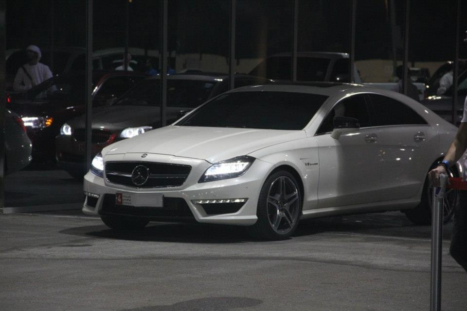 White 2012 Mercedes-Benz CLS63 AMG PP-Performance