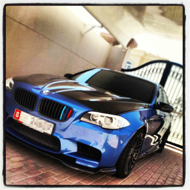 Monte Carlo Blue 2013 BMW M5 F10 PP-Performance