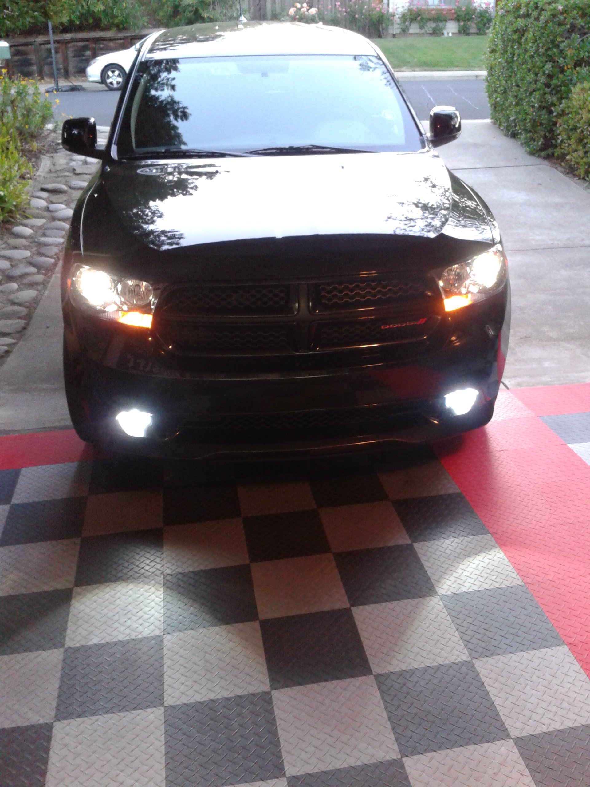 Brilliant Black 2012 Dodge Durango R/T