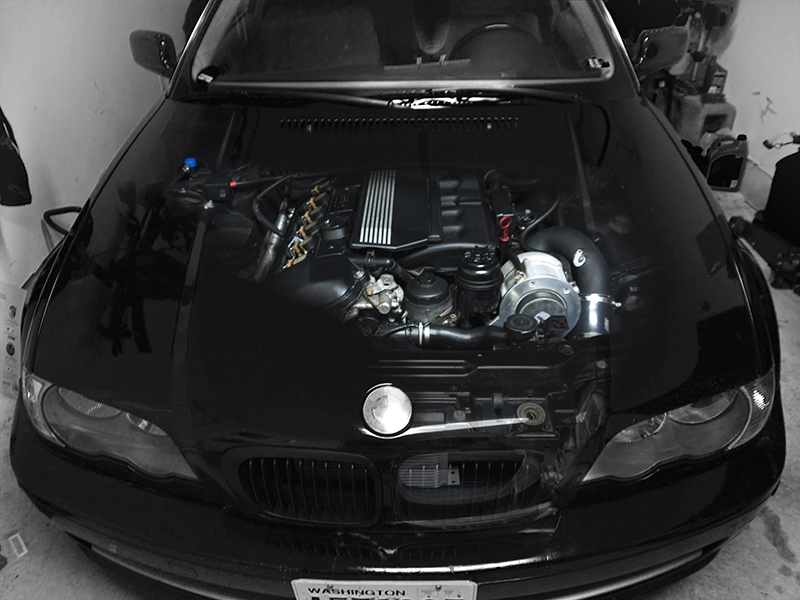 Black 2001 BMW 330Ci AA