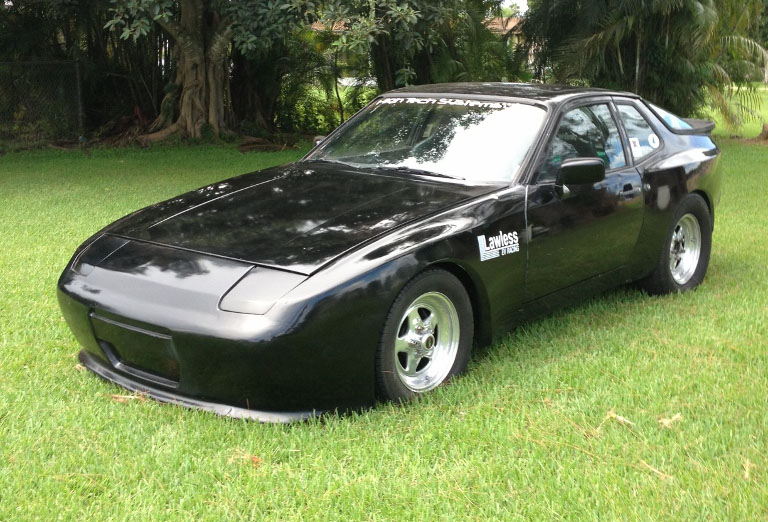 1984 Black Porsche 944 Electric picture, mods, upgrades