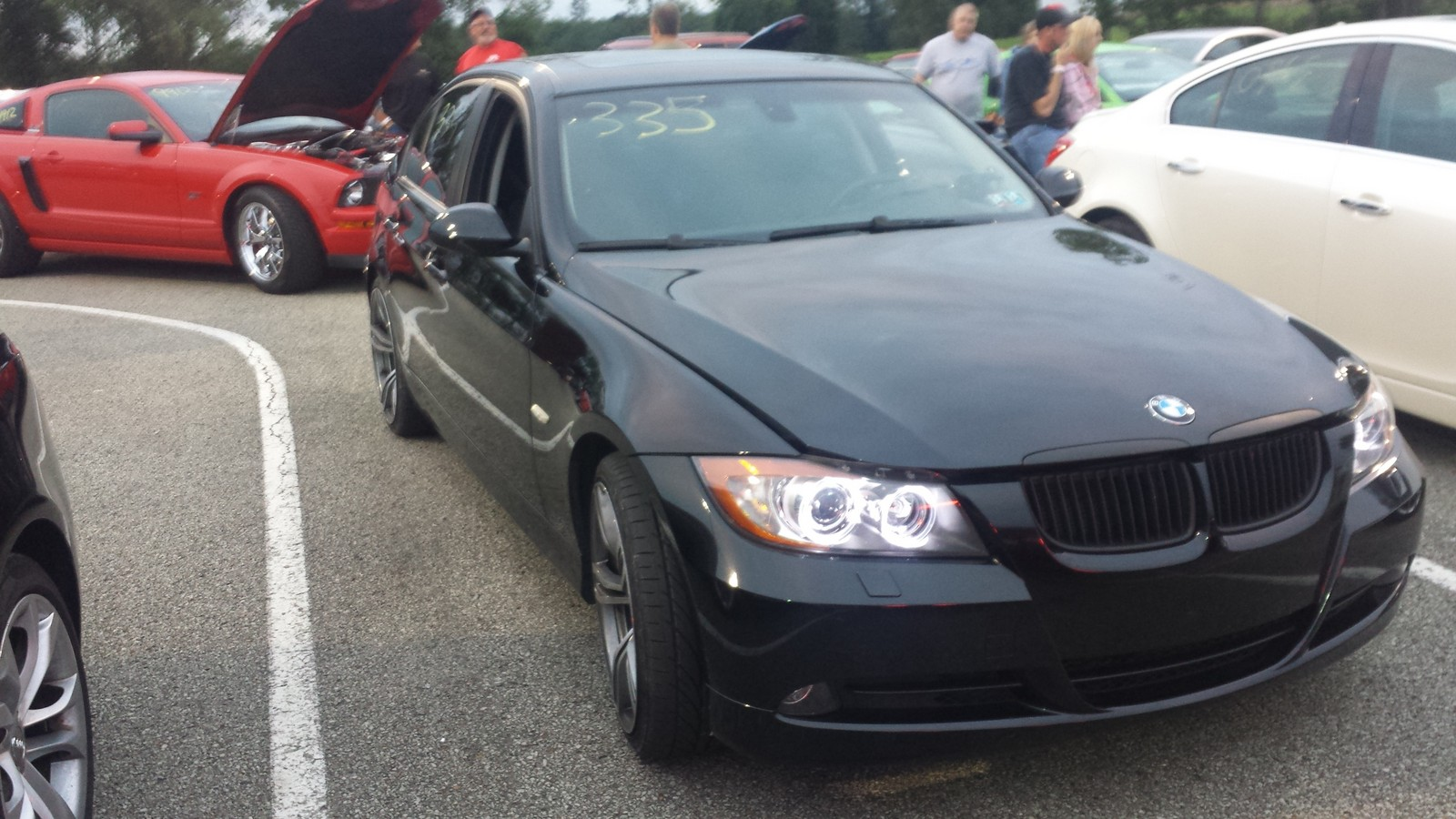 2008 Sapphire Black BMW 335xi  picture, mods, upgrades