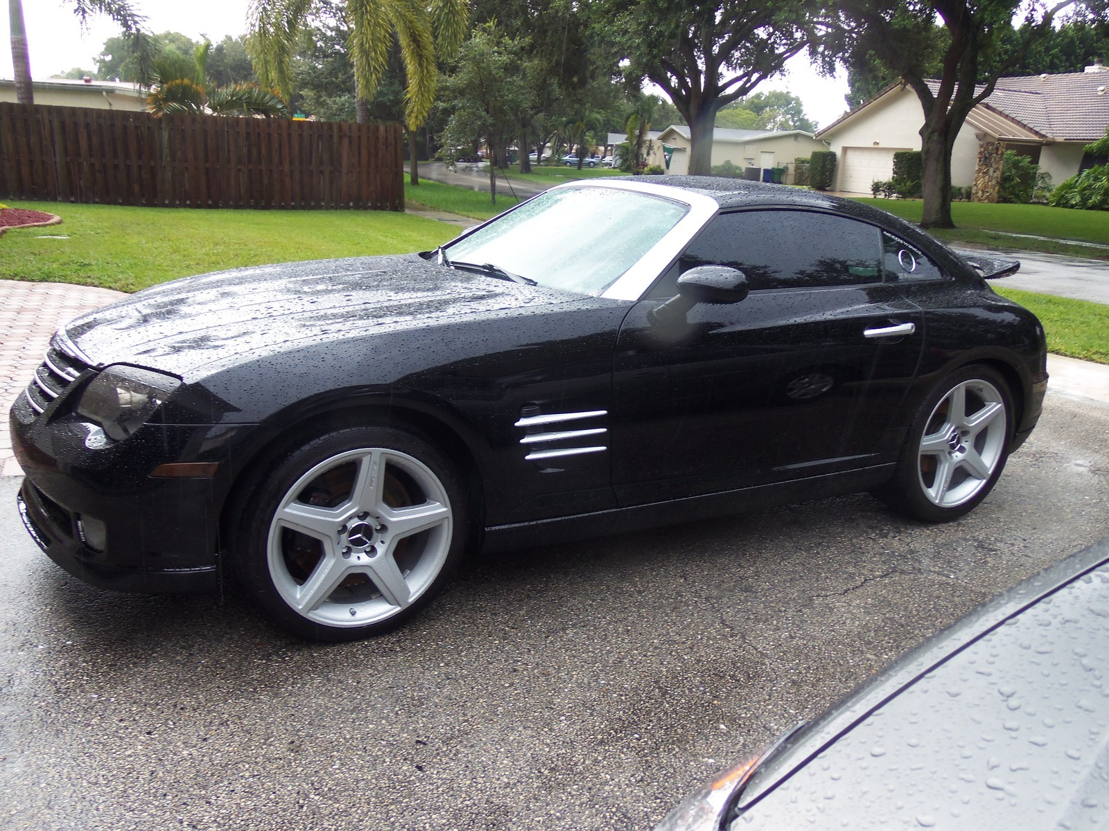 Black 2005 Chrysler Crossfire jim's SRT