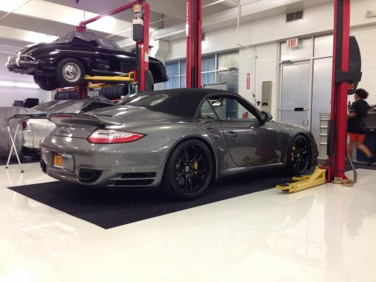 gray 2012 Porsche 911 Turbo 911 turbo s cabriolet by champion motors