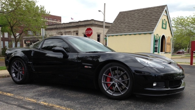 Black 2008 Chevrolet Corvette Z06