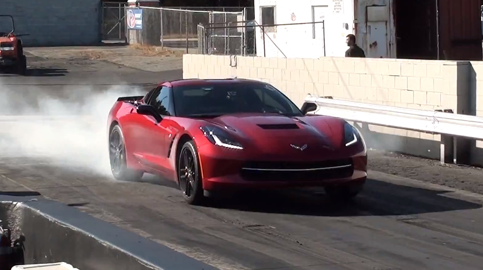 Red 2014 Chevrolet Corvette C7 Automatic