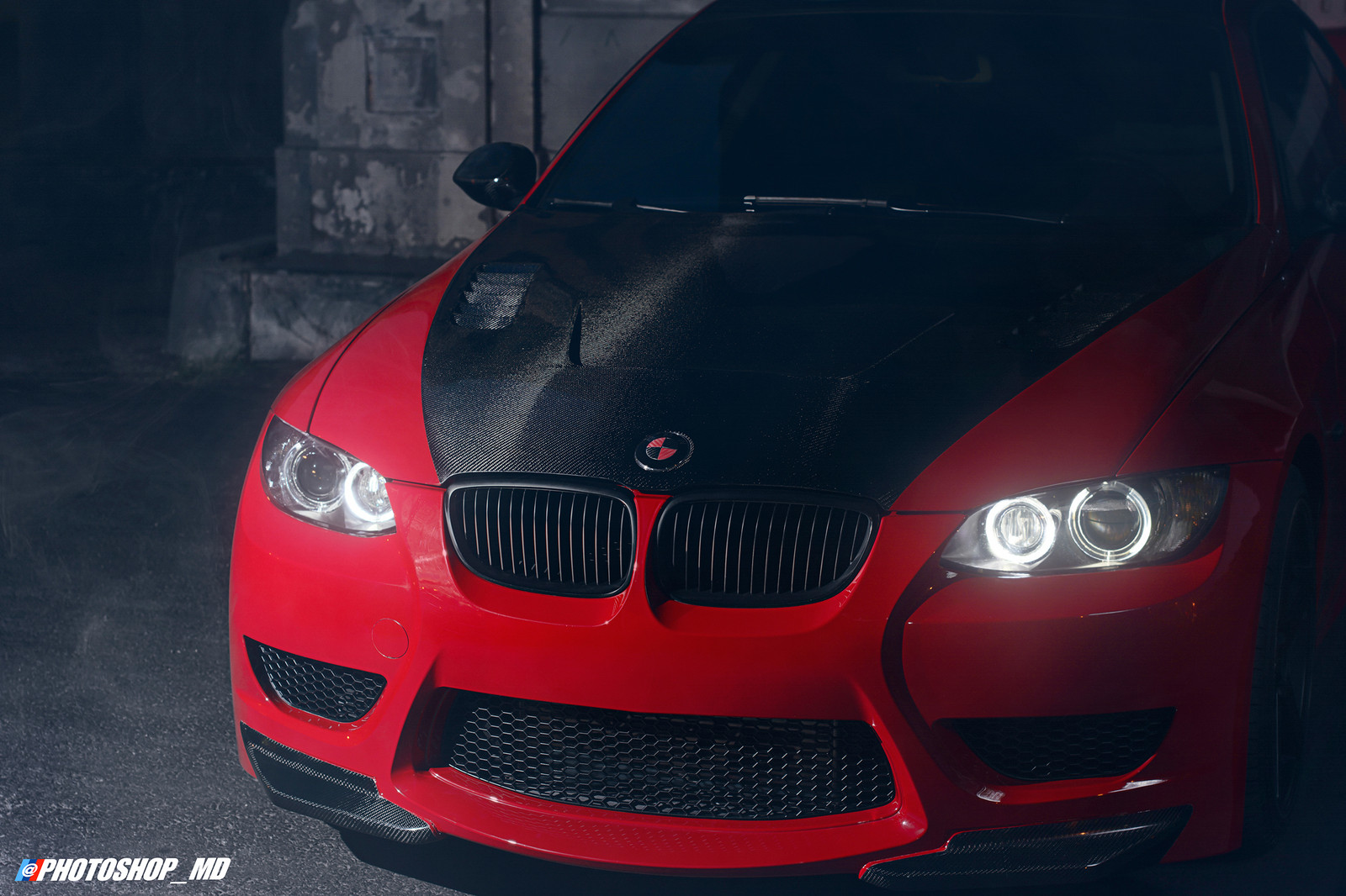 crimson red 2008 BMW 335i JB4 coupe