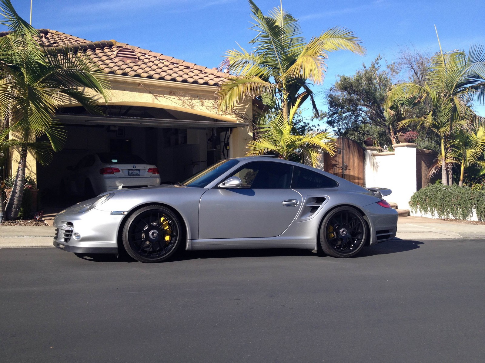 GT Silver Metallic 2011 Porsche 911 Turbo S