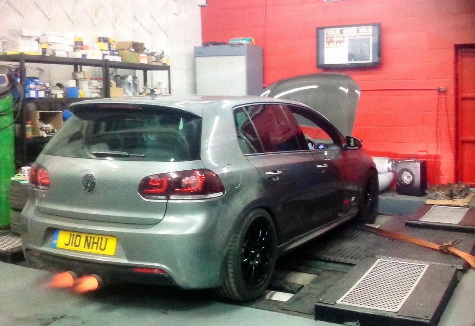 Steel Grey 2011 Volkswagen Golf R DSG