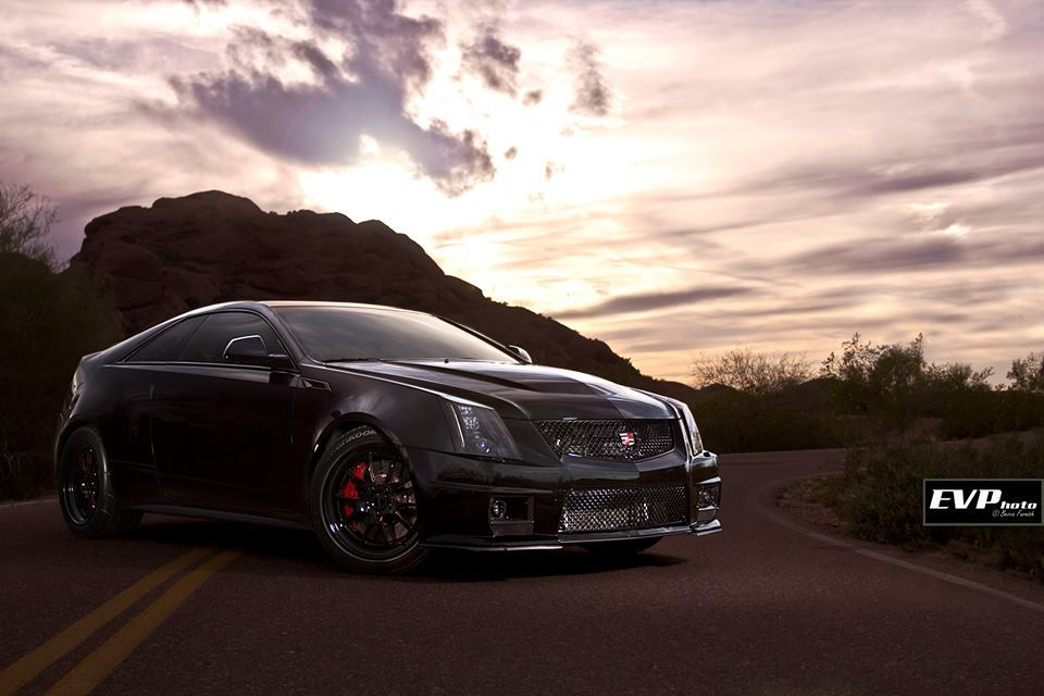Black 2011 Cadillac CTS-V Coupe