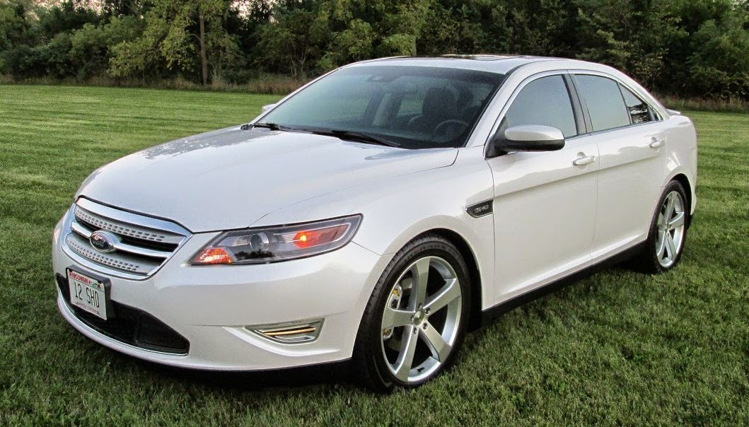 White Platinum 2012 Ford Taurus SHO