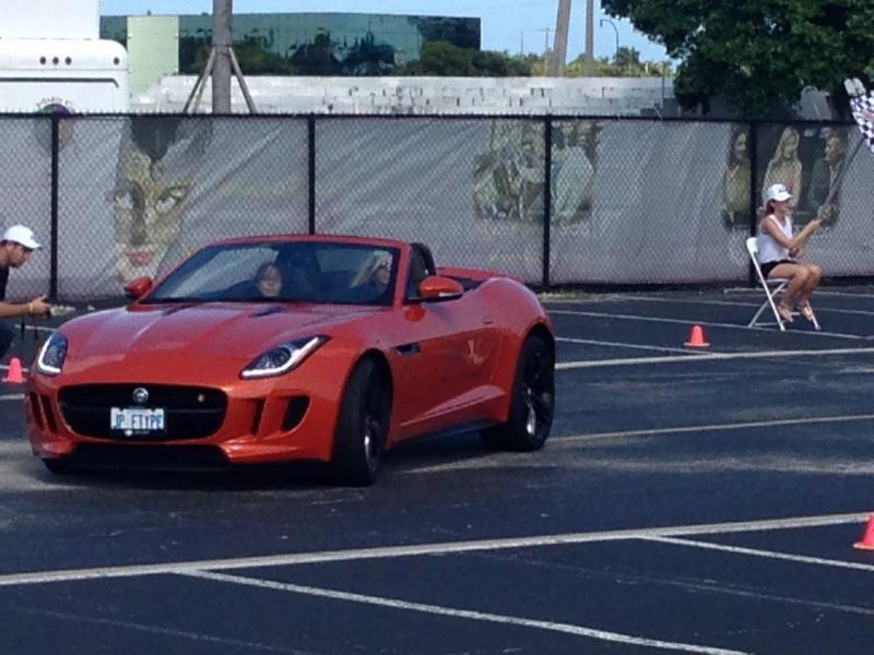 Orange 2014 Jaguar F-Type S Tune and Pulley
