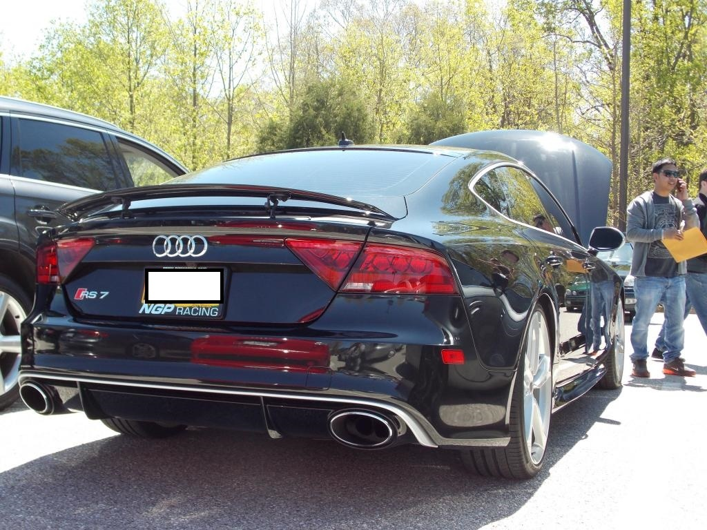 Phantom Black 2014 Audi RS-7