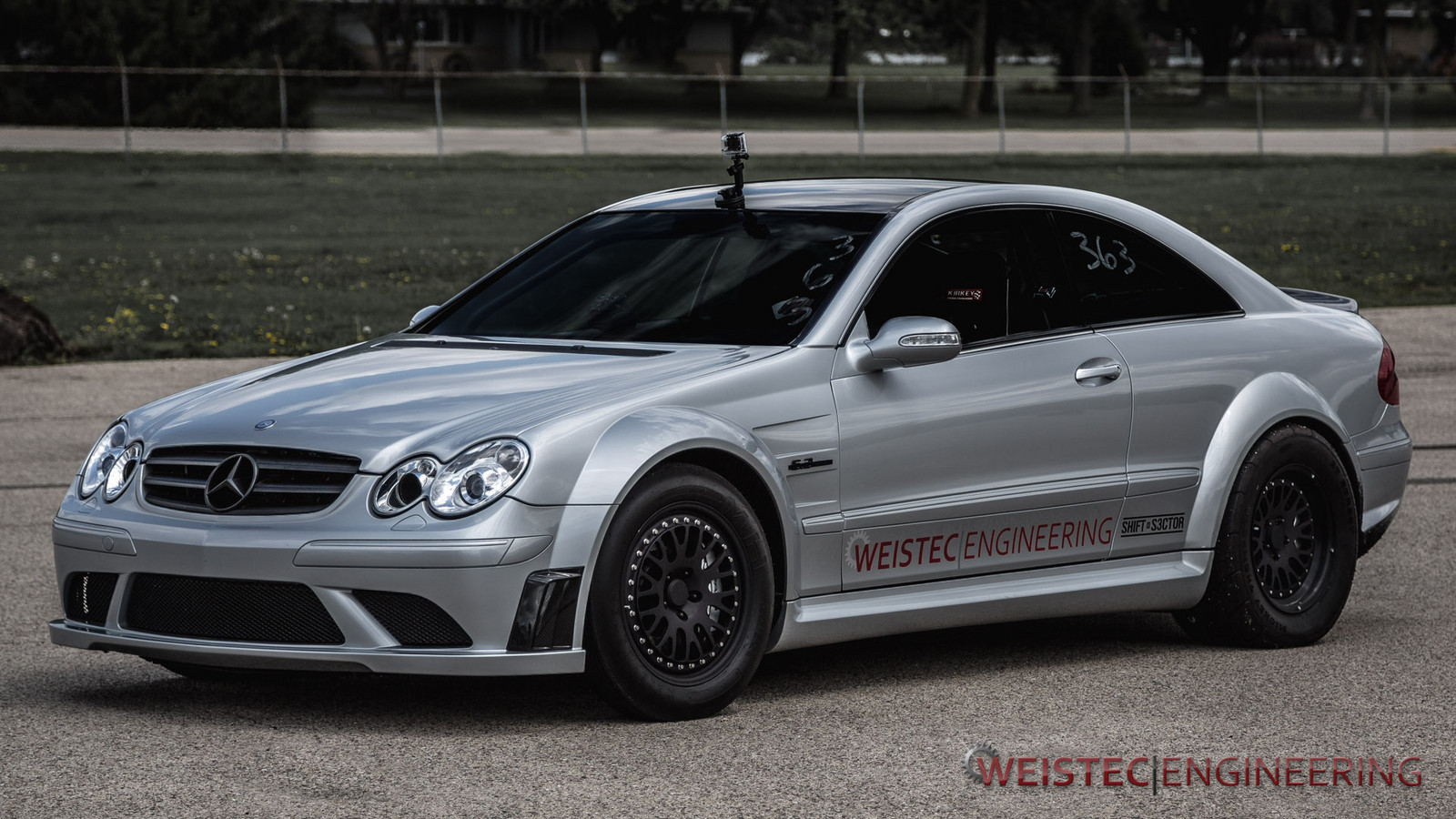 2008 Mercedes-Benz CLK63 AMG WEISTEC SUPERCHARGED