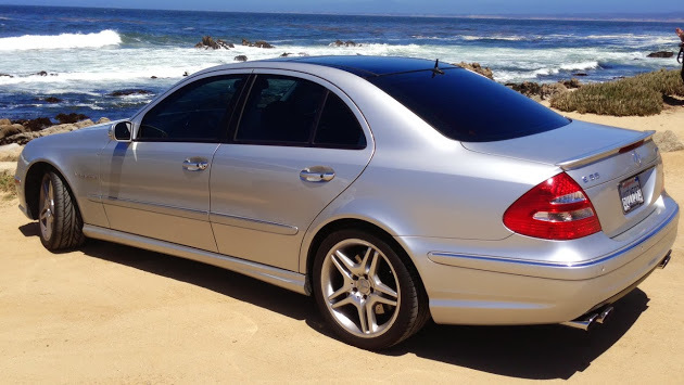 2005 Brilliant Silver Metallic Mercedes-Benz E55 AMG  picture, mods, upgrades