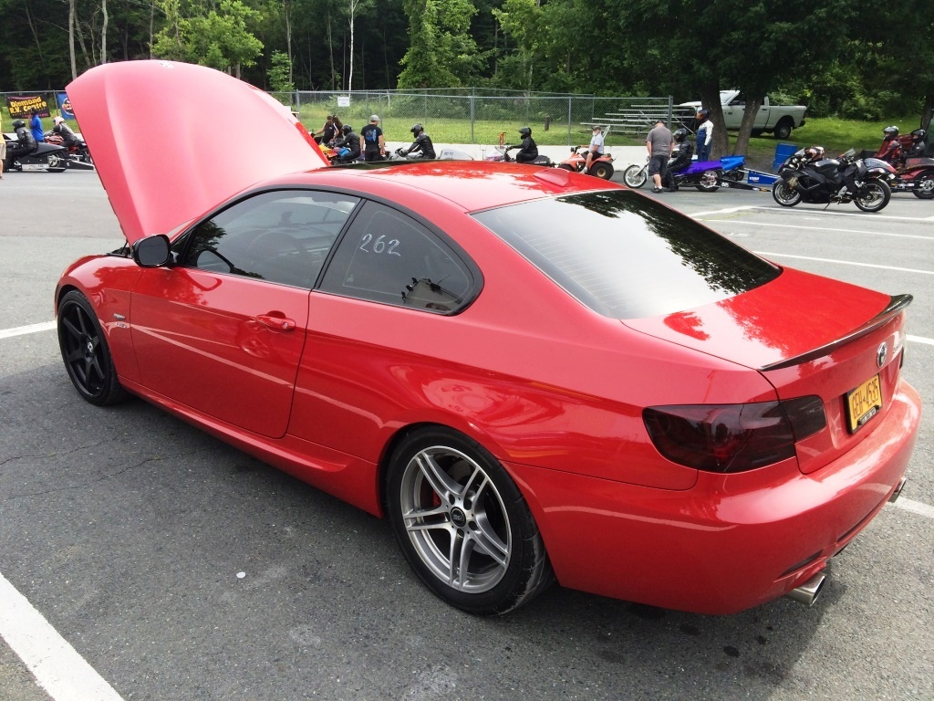 Crimson Red 2013 BMW 335i 335is Coupe