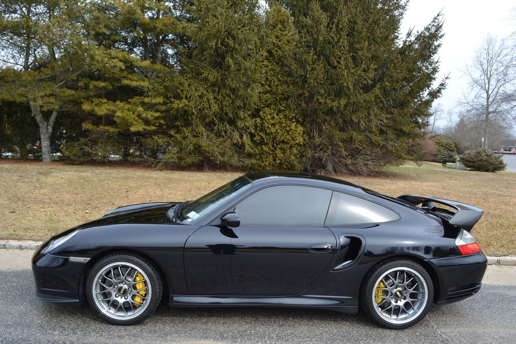 Black  2005 Porsche 911 Turbo Turbo S RWD