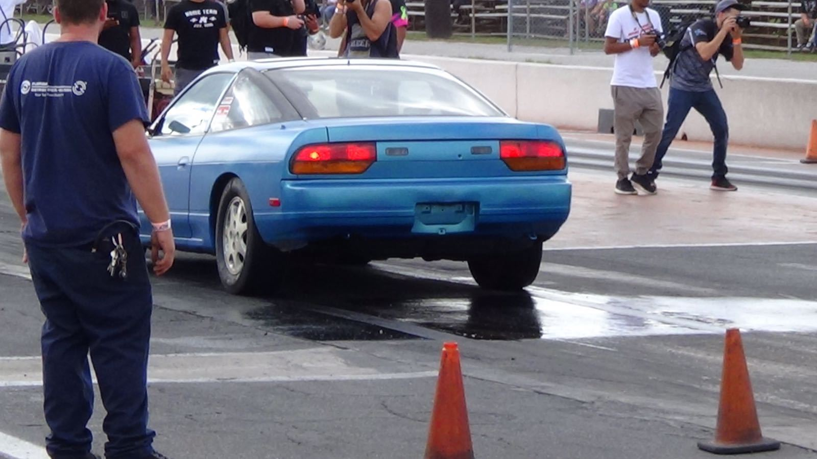 Blue 1990 Nissan 240SX se ka24de turbo