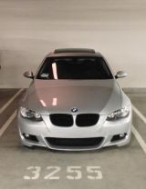 Silver 2007 BMW 335i Coupe