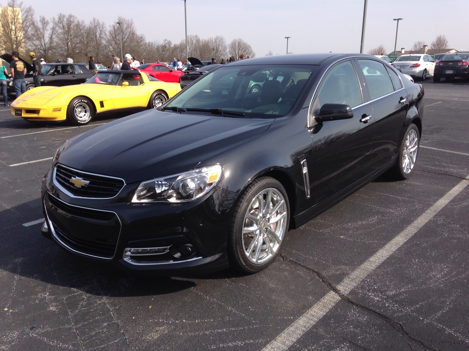 Phantom Black Metallic 2014 Chevrolet SS