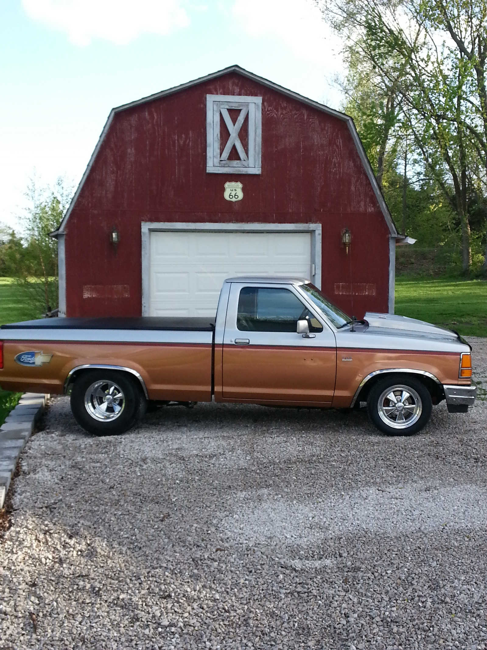 1992 GOLD/SILVER Ford Ranger XLT picture, mods, upgrades